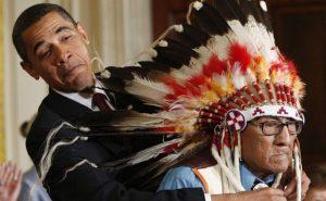 obama si indienii